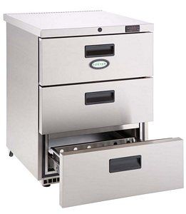 Foster HR150 Undercounter Fridge With Drawers